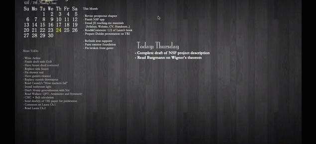 Elegant Desktop ToDo List